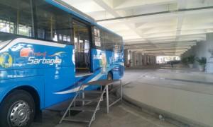Bali airport Sarbagita public transport bus