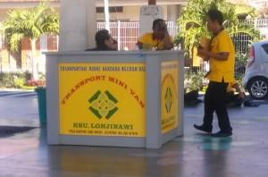 Yellow alternative Bali taxi